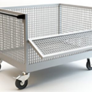 wiremesh trolley suppliers pune