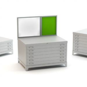 Drawing file storage cabinets