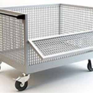 wiremesh trolley manufacturer, industrial trolley manufacturers